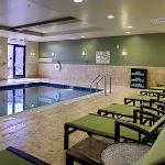 Our beautiful indoor, salt-water swimming pool and spa are perfect for a casual afternoon with t