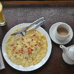 Maadathil Cottages - breakfast