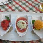 3 types of sorbets