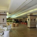 Light and breezy lobby area
