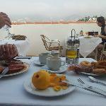 Terraza desayuno