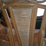 sillas del salón
