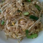 Delicious chicken noodles 'R' on menu