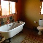 salle de bain (vous avez également une douche)