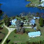 Aerial view of The Inn at Tabbs Creek