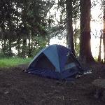 Tent site at K-12