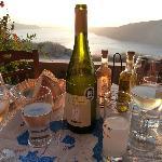 """""""prämierter"""" Wein und toller Ouzo"""
