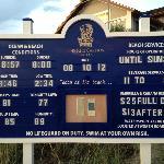 The Ritz beach board