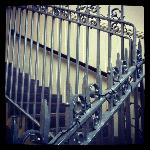 The original old school railings