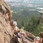 View of Boulder from Royal Arch