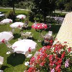 Gastgarten, Garden