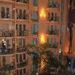 Interior balconies