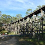 Old rail bridge, East Gippsland Rail Trail