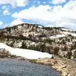 Scenery of Beartooth Highway, the road between Yellowstone and Red Lodge