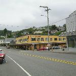 The town of Wheeler with the Old Wheeler Hotel as the centre attraction