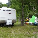 RV and tent friendly sites