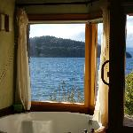 View and bathtub