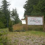 Sign on Peninsula Road