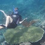 Snorkelling at Lipah Beach