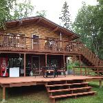 Front of the King Salmon (Main Lodge)