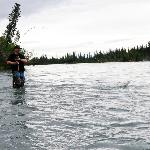 Silver and Sockeye fishing on the Kenai, only minutes away