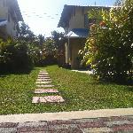 Around the villa
