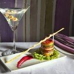 Grilled Med Vegetable Tower Salad