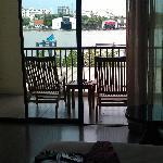 onze kamer in Navalai februari 2012