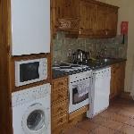 Full kitchen is available