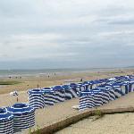 La plage aux romantiques - Cabourg