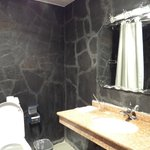 The part of bathroom 1