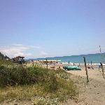 la spiaggia....