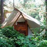 Tent with en-suite