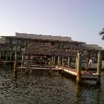 Tiki bar, from water taxi
