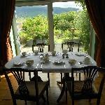 The lovely breakfast-room