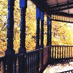 Wide verandas