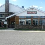 The Trapper's Restaurant attached to Hotel
