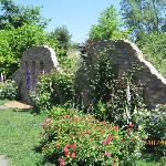 英国式の庭のイメージ