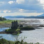 Castle Stalker, along the route to Glen Coe