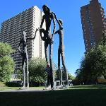 Panorámica estatuas