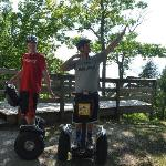 Our off road segway tour - overlooking Green Bay