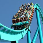 Leviathan - Canada's tallest & fastest roller coaster drops riders from a height of 306 feet! (46181334)