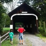 Covered bridge at Grafton Ponds Rec Area