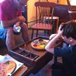 Chinese checkers at the Tavern