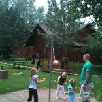 tether ball at Rams Horn