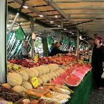 mercato del sabato a Boxhagenerplatz