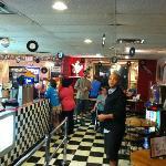 Inside the Casino Theatre restaurant