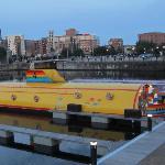 Le celebre sous-marin jaune