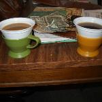 in room coffee....remember these kind of coffee cups?