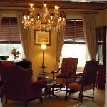Parlor to relax and enjoy a glass of port